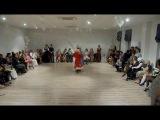 Танец Деда Мороза и Снегурочки на Новогодней милонге в Севастополе